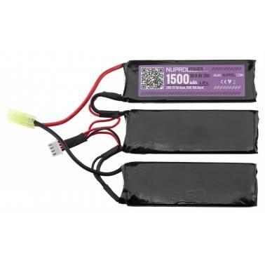 batterie life 9.9v 25c 3 feuilles nuprol we 8103