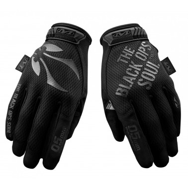 gants MTO TOUCH palpation By Mechanix noir BO manufacture