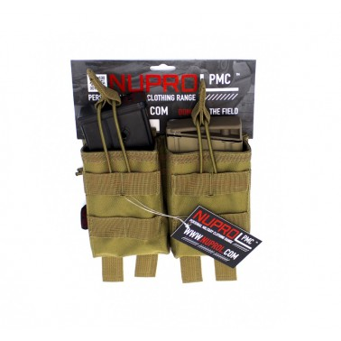 double poche PMC chargeur g36  tan nuprol 6418
