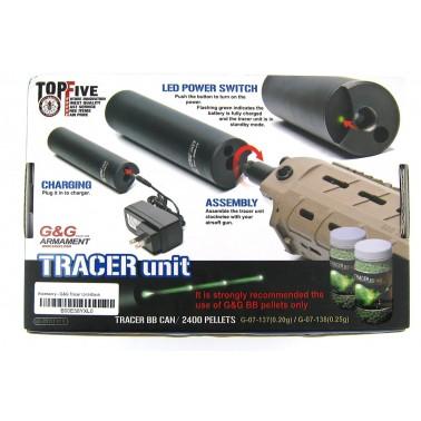tracer noir g&g + batterie + chargeur
