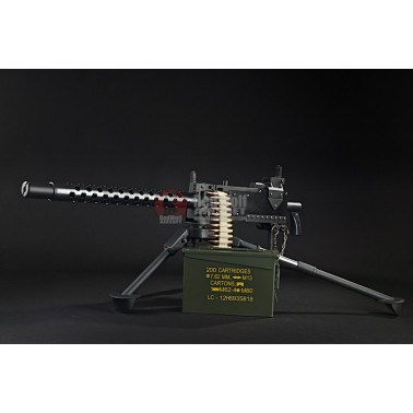 RWA M1919 AEG dispo + trepied + ammo box