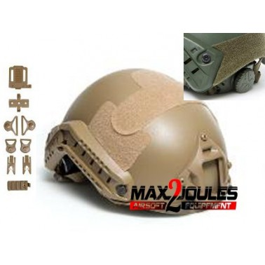 casque fast tan strike helmet asg 18051