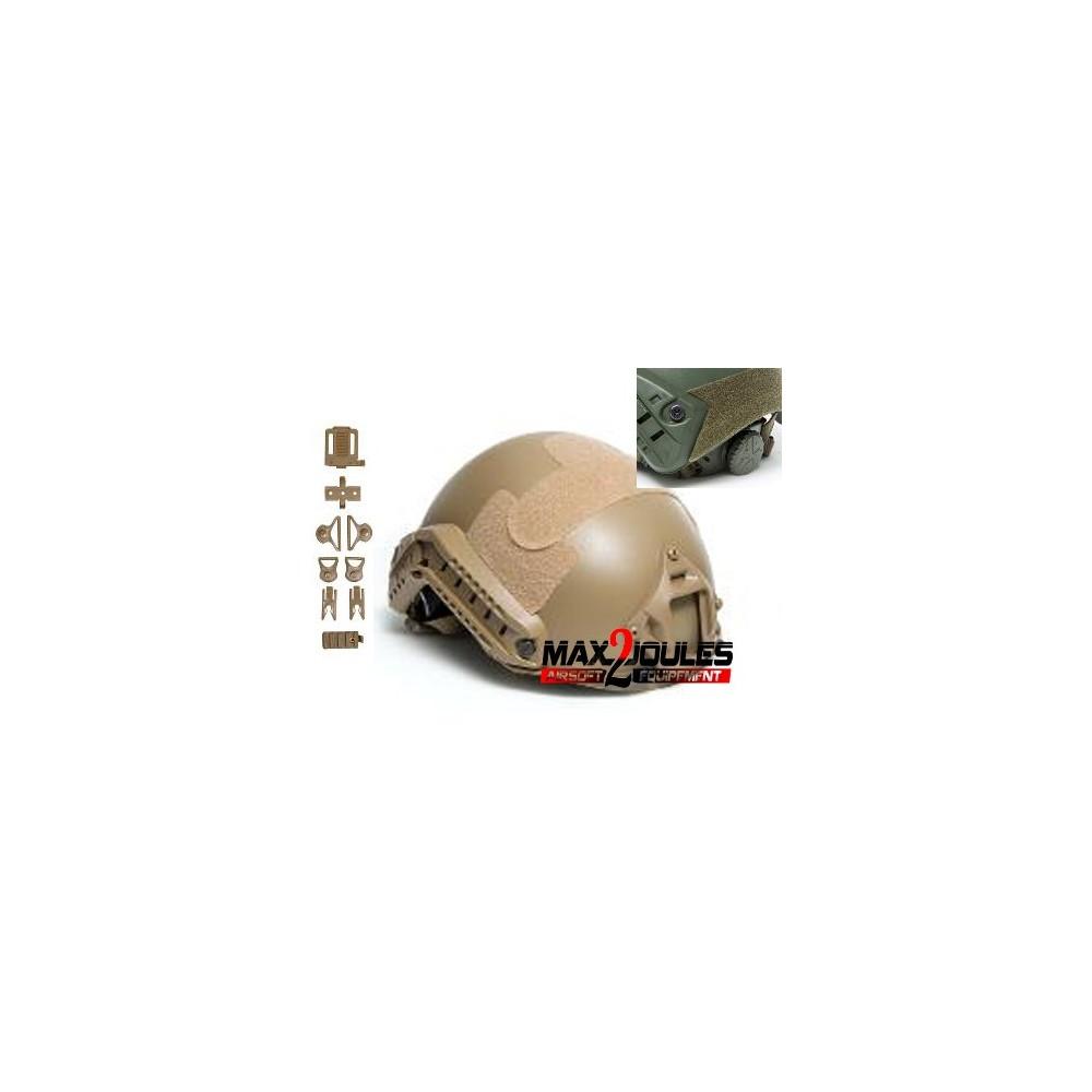 casque fast tan strike helmet asg 18051