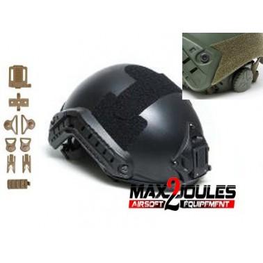 casque fast noir strike helmet asg 18050