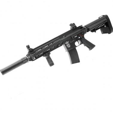 bolt 416 devgru black recoil shock avec silencieux
