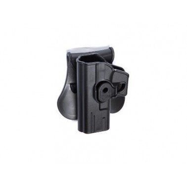 holster rigide gaucher pour glock et famille airsoft compatible IMI strike systems 18214