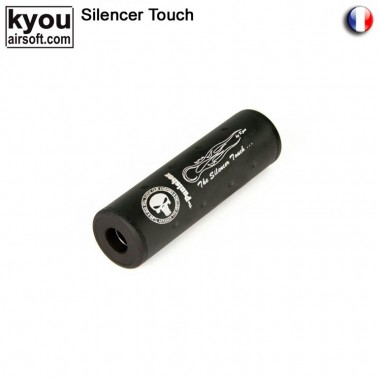 silencieux court punisher diam30 long 110mm 14+-