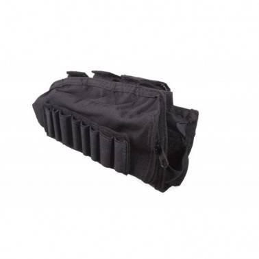 couvre crosse noir avec porte douille