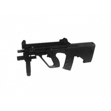 steyr aug xs commando black aeg 18377
