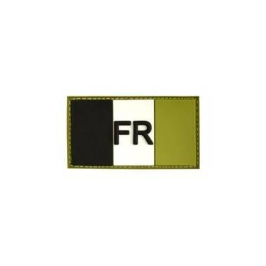 patch france pvc base verte basse visibilitee