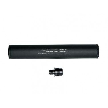 silencieux 40mm 247mm long hush xl compatible aw308