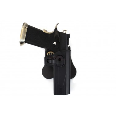 holster rigide hi capa  a retention  nuprol 6209