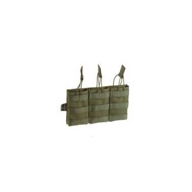 poche chargeur m4 5.56 par 3 od invader gear