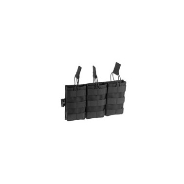 poche chargeur m4 5.56 par 3 noir invader gear 17109