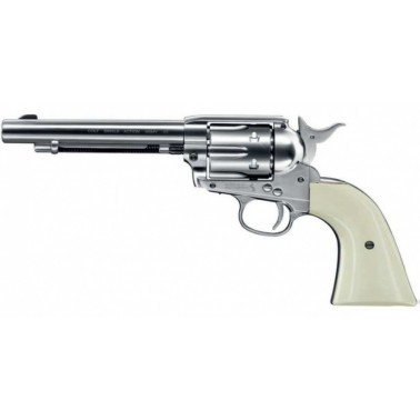 colt saa.45 full metal 4.5mm nickelee