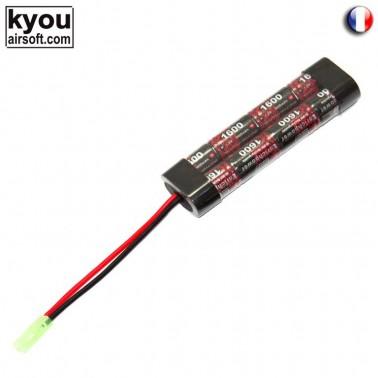 batterie 9.6v 1600mah type mini enrichpower