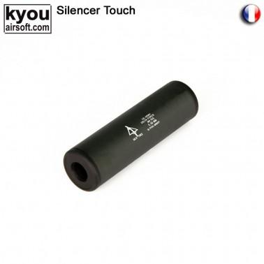 silencieux m6 noir delta force 110mm d30mm 14mm + -