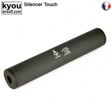 silencieux m6 noir delta force d35mm l:195mm + -
