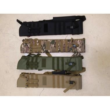 carquois fusil à pompe tactical tan shotgun holster