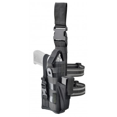 holster de cuisse modulable noir droitier gaucher defcon5 d5-gs08 b