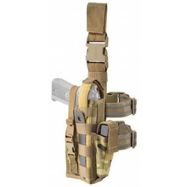holster de cuisse modulable multicam droitier gaucher defcon5 d5-gs08 mc