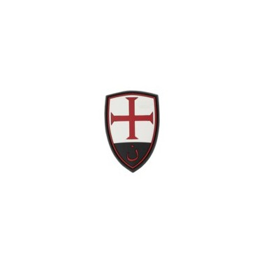 patch pvc scratch crusader shield rubber