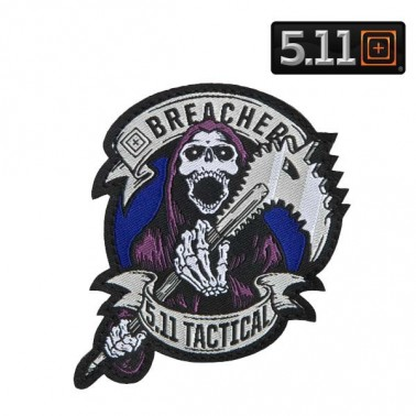 patch 5.11 breacher couleur bleu