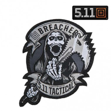 patch 5.11 breacher couleur gris