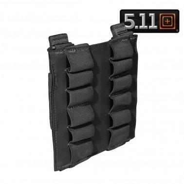 porte 12 cartouches shotgun 5.11 noir