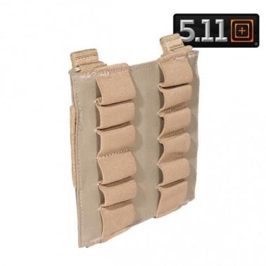 porte 12 cartouches shotgun 5.11 sable