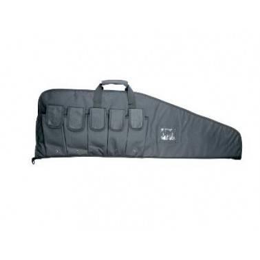 housse 105x32cm noir 5 poches chargeurs 17562