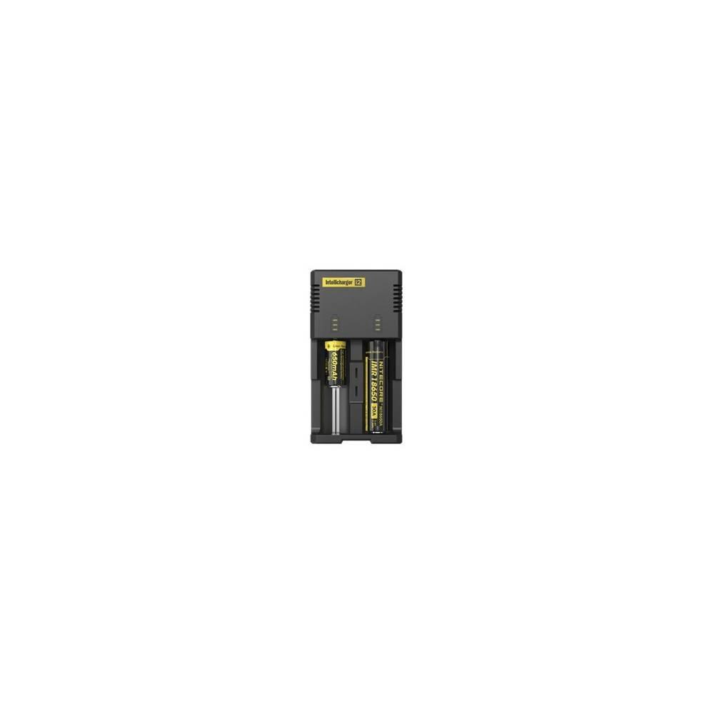 chargeur de batterie nitecore intelligent i2. Black Bedroom Furniture Sets. Home Design Ideas