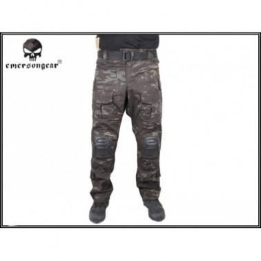emerson pantalon gen3 genouillere multicam black