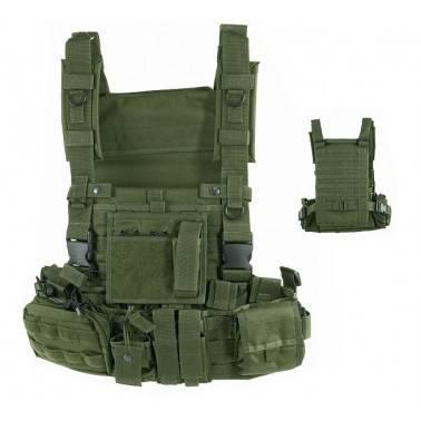 gilet de combat recon harness od defcon5 d5-701tac od