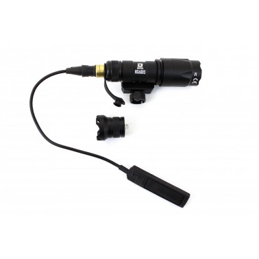 lampe tactical nx600s noire 110 lumens nuprol 7056