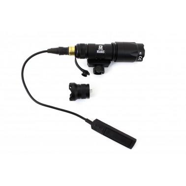 lampe tactical nx600s noire 110 lumens nuprol 7056