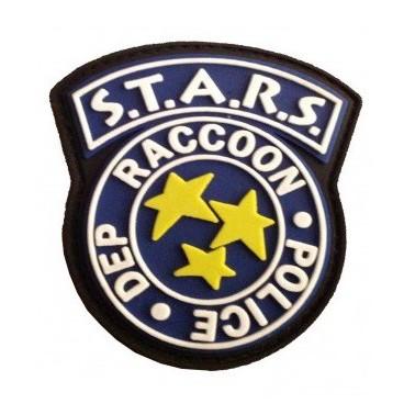 patch pvc STARS raccoon