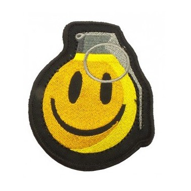 patch smiling grenade