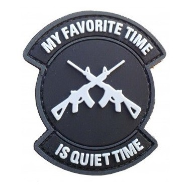 patch pvc quiet time