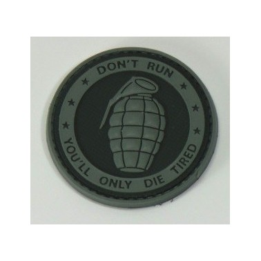 patch grenade rond
