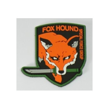 patch pvc fox hound