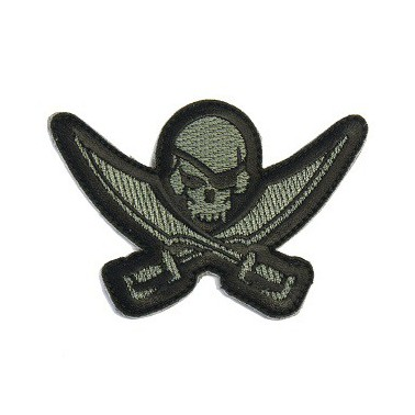 patch msm pirate skull decoupe acud