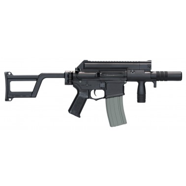 m4 ccc + silencieux tactical pistol amoeba noir am-006-bk