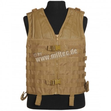 gilet carrier molle tan 13462105