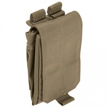 dump pouch 5.11 noir poche a gerber repliable