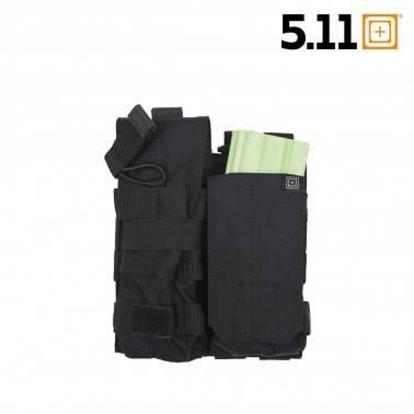 5.11 double poche chargeur g36 m4 bungee noir