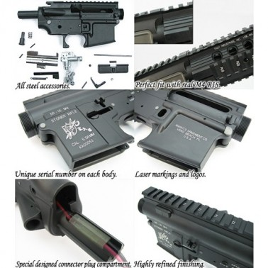 corps m4 sr-16 metal kit complet king arms ka-m4-20-k03