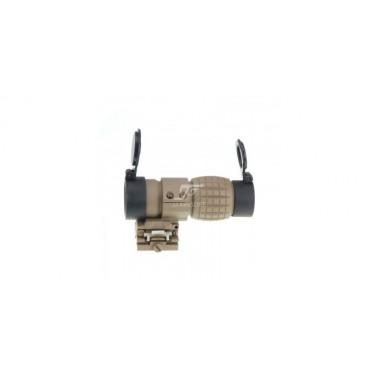 magnifier x3 noir basculant qd flip to slide st44060