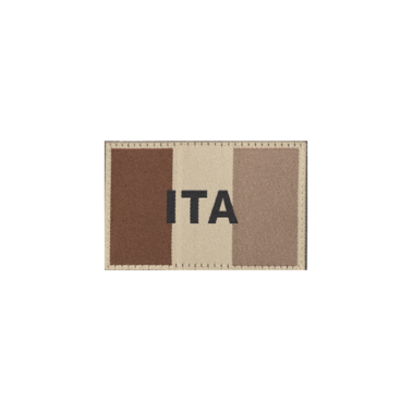 patch italie tissé couleur desert claw gear