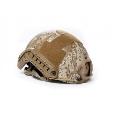 casque fast helmet AOR1 digital desert strike helmet asg + accessoires 18391